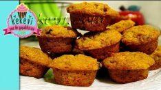 5 dakikada Havuçlu Muffin