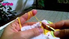 Atkı ve Havlu Kenarlarında Kullanılan Kurtçuk Modeli Yapımı