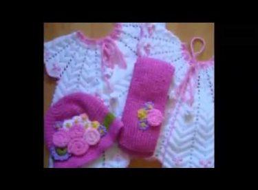 Bebe Örgü Örnekleri Video