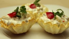 Çıtır Yufka Kasede Amerikan Salata – Rus Salatası Tarifi