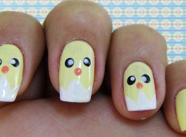 Civciv Oje Deseni – Nail Arts
