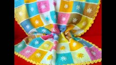 easy baby blanket patterns