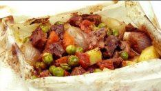 Fırında Kağıt Kebabı Tarifi   Sebzeli Kebap