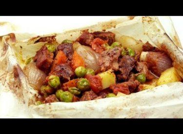 Fırında Kağıt Kebabı Tarifi | Sebzeli Kebap
