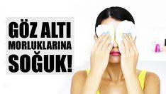Göz Altı Morlukları ve Şişlikleri Nasıl Geçer? – Göz Altı Torbaları İçin Soğuk Uygulama
