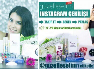 Güzelleşelim.com Instagram Çekilişi Sonuçları (22-30 Nisan)