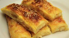 Hazır Baklava Yufkasından Peynirli Sodalı Rulo Börek Tarifi