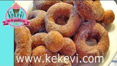 Kek Donut / Donat Tarifi (Tarçınlı)