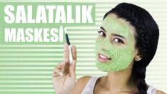 Kırışıklıklar ve Cilt Lekeleri İçin Salatalık Maskesi