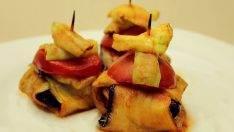 Köfteli İslim Kebabı Tarifi – Patlıcan Kürdan Kebabı Nasıl Yapılır