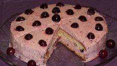 Kolay Vişneli Pasta Tarifi | Yaş Pasta Tarifi | Tatlı Tarifleri