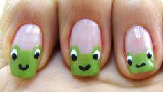 Kurbağa Oje Deseni – Nail Arts