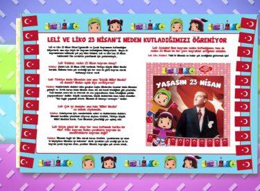 Leliko Dergisi Nisan Sayısı Tanıtım