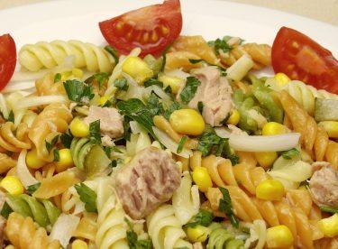Makarna Salatası Tarifi | Ton Balıklı Makarna