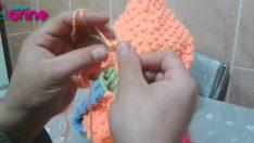 Örgü Fıstık Modeli Yapılışı Çocuk Hırka, Yelek ve Kapşon için