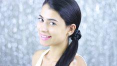 Örgü İle Kolay Saç Modelleri – 1