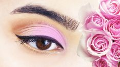 Pembe Göz Makyajı