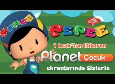 Pepee 1 Ocak'tan İtibaren Her Gün Planet Çocuk'ta