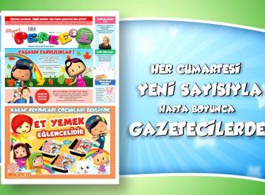 Pepee Anne-Çocuk Gazetesi Tüm Gazetecilerde