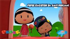 Pepee Gazetesi Her Cumartesi Yeni Sayısıyla Bayilerde