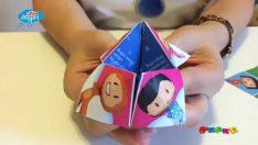 Pepee Gazetesi'nden Kağıt Oyuncak – Parmak Tuzluk Oyunu -Düşyeri