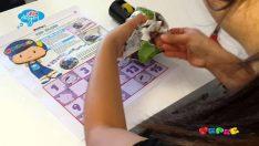 Pepee Gazetesi'nden Kağıt Oyuncak – Top Ölçer / Eşle-Yap-Boz