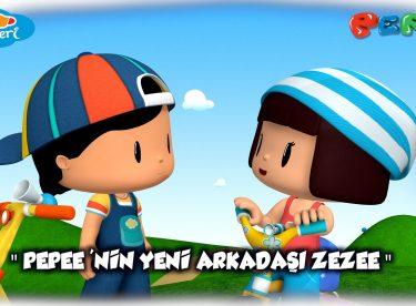 Pepee Yeni Bölüm:4 / Pepee'nin Yeni Arkadaşı Zezee -Düşyeri