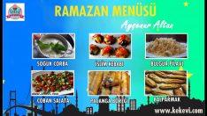 Ramazan İftar Menüsü 1