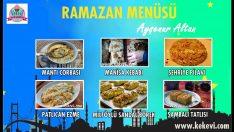 Ramazan İftar Menüsü 2 – Ayşenur Altan