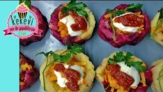 Renkli Patates Çanakları – Salata Tarifleri