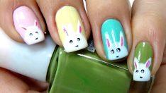 Tavşan Oje Deseni – Nail Arts