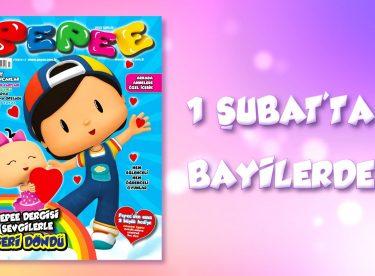 Yüz Binlerin Sevgilisi Pepee Dergisi Geri Dönüyor