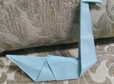 Kağıttan Kuğu Yapımı