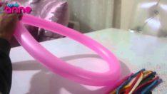 Sosis Balon ile Kalp Yapımı