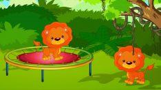 10 Küçük Aslancık – Saymayı Öğreniyoruz – Çocuk Şarkısı