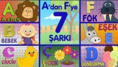 ABC Alfabe Şarkıları (A-B-C-Ç-D-E-F) – Sevimli Dostlar Eğitici Çizgi Film Çocuk Şarkıları