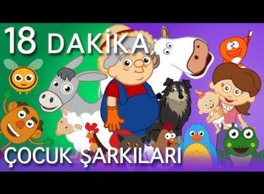 Ali Babanın Bir Çiftliği Var ve EN Popüler 10 Çocuk Şarkısı – AdisebabaTV Çizgi Film Çocuk Videoları