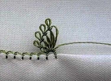 İğne Oyası Sinek Kanadı Yapımı Minik Kirpikli