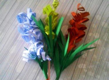 Kağıt ile Çiçek Yapımı, Dıy, Kendin Yap