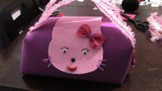 Keçeden Çanta Yapımı (Hello Kitty Modeli)