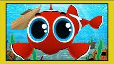 Kırmızı Balık Çizgi Film Çocuk Şarkısı – Adisebaba Çocuk Şarkıları