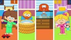 KOŞ KENDİ YATAĞINA – Sevimli Dostlar Eğitici Çizgi Film Çocuk Şarkıları Videoları