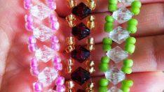 Kristal Taş ile Esnek Bileklik Yapımı