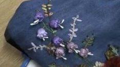 Kurdele Nakışı Küpe Çiçeği Yapımı