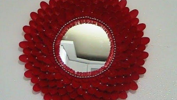 Plastik Kaşıktan Ayna Yapımı