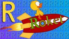 R Harfi – ABC Alfabe – Çocuk Şarkıları