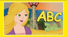 Rapunzel ile ABC Song – Adisebaba İngilizce Çizgi Film Çocuk Şarkıları Videoları