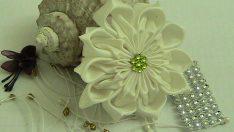Saten Kurdeleden Çiçek Nasıl Yapılır ?