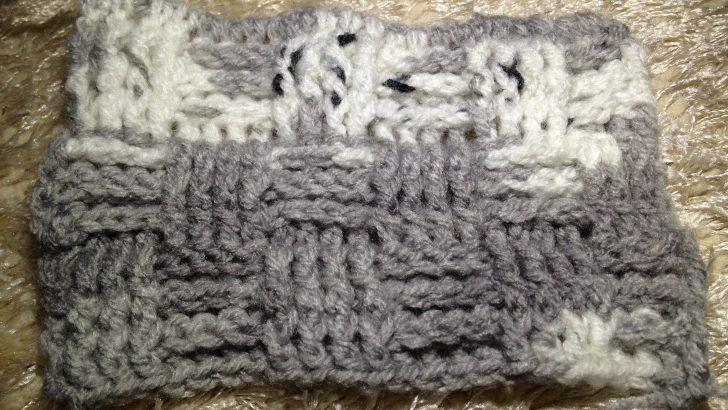 Sepet Örgü Yapımı – Basket Crochet