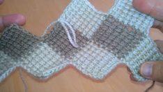 Tunus İşi Battaniye Modeli Yapımı